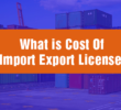 What is the cost of import license in India
